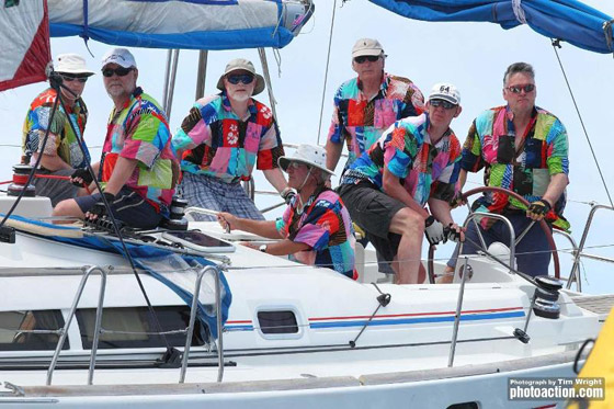 Antigua Sailing Week: Racing Even On the Lay Day