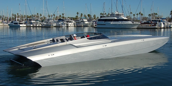 New DCB Catamaran Tops 170 mph