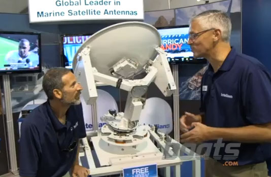Intellian Satellite TV Antenna: No LNB Switching Necessary
