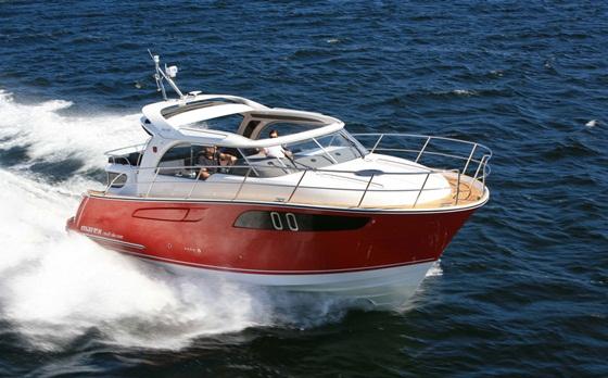 Winner, Up to 35 feet: Marex 320 AC