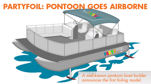 PartyFoil: Pontoon Boats Go Airborne