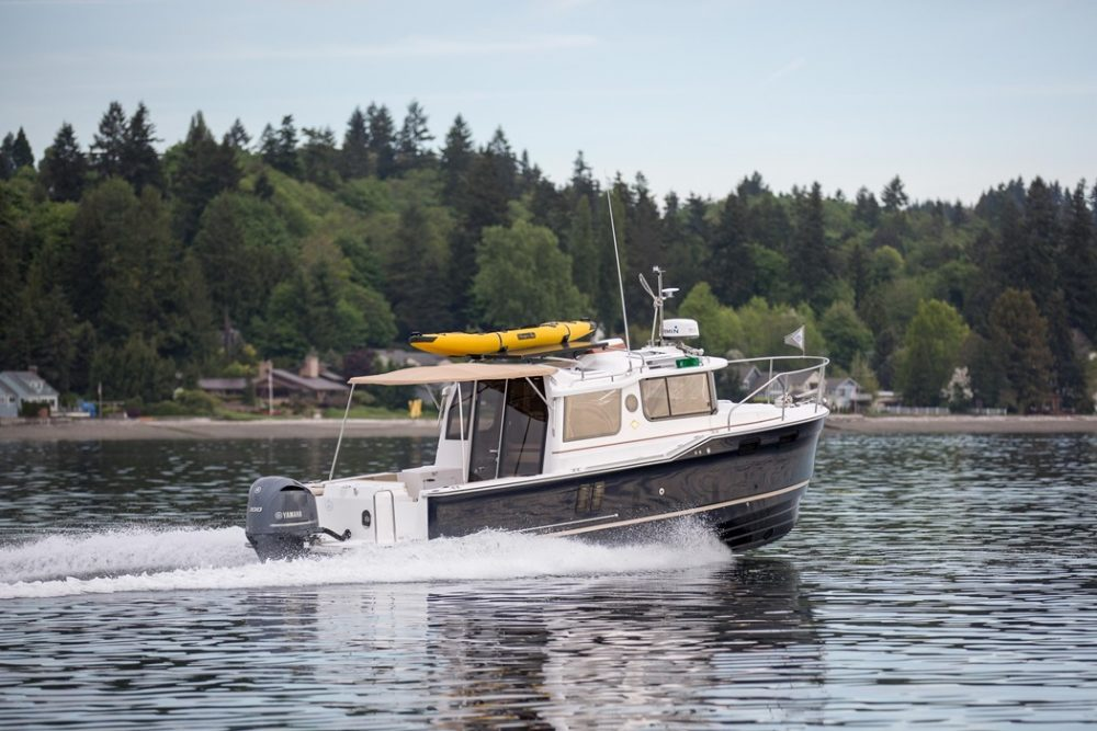 Ranger 27 Tug: Tour with The Boat Guy, Chip Hanauer