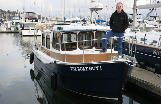 The Boat Guy Chip Hanauer's Ranger 27 Tug is a perfect get-there boat with a traditional look.