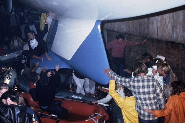 Throwback Thursday: Australia II's Winged Keel Design
