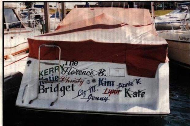 4 Steps to Renaming a Boat