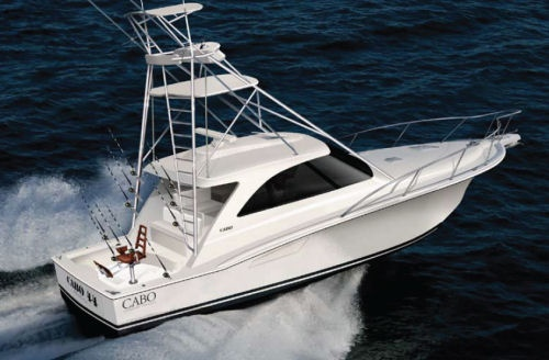 Cabo 44 Hard Top Express Launches at Lauderdale
