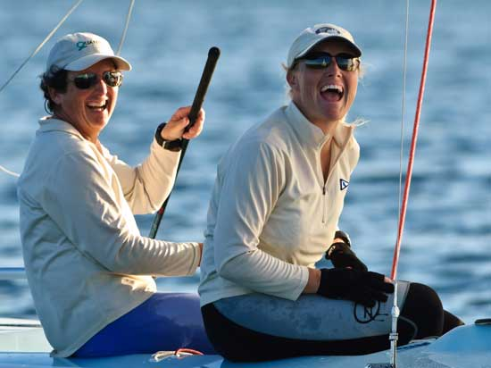Sailing Competition: Business or Pleasure?