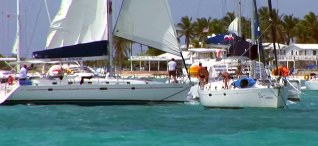 Manic Monday Video: Charter Boat Crashes