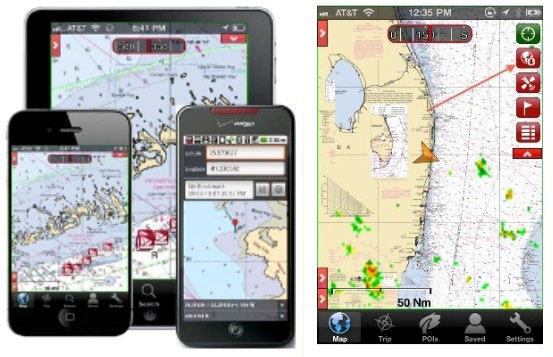 EarthNC 3.1: Cell Phone or Chart Plotter?