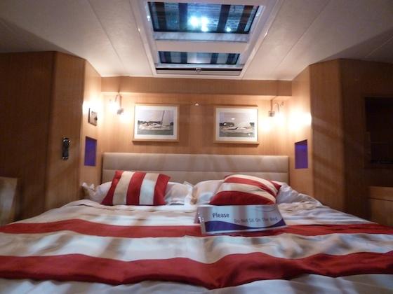 The Gunfleet 43 master cabin