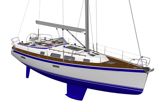 Hallberg-Rassy 412: Sporty New Cruiser