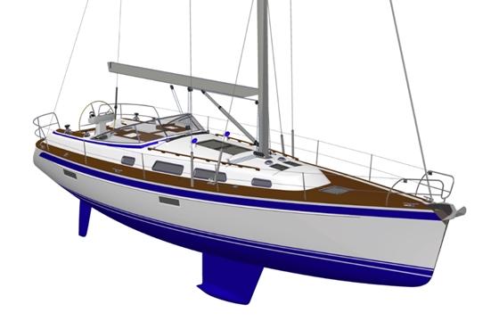 Hallberg-Rassy 412: Sporty New Cruiser thumbnail