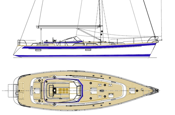 Hallberg-Rassy 55: Expertly Updating the Line