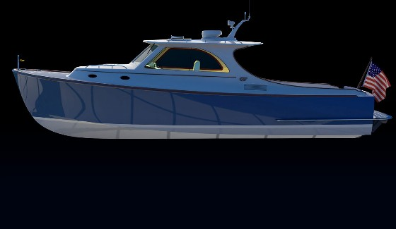 Hinckley Launches The New T34 With Twin Jet Drives Boats Com