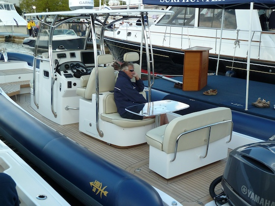 Tough New RIB with Hunt Yacht Qualities thumbnail