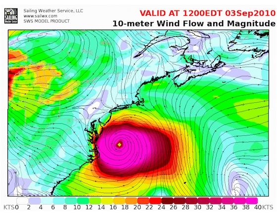 Hurricane Earl: Boat Watch in New England