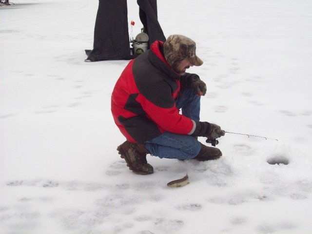 Fishing Friday: Ice Fishing – Spuds, Augers, and Eyeballs