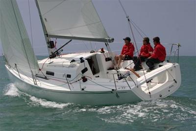 First Time on the J/97, Dartmouth Royal Regatta thumbnail