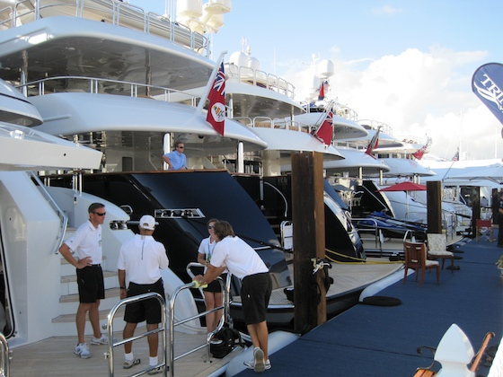 Ft. Lauderdale International Boat (Slide) Show