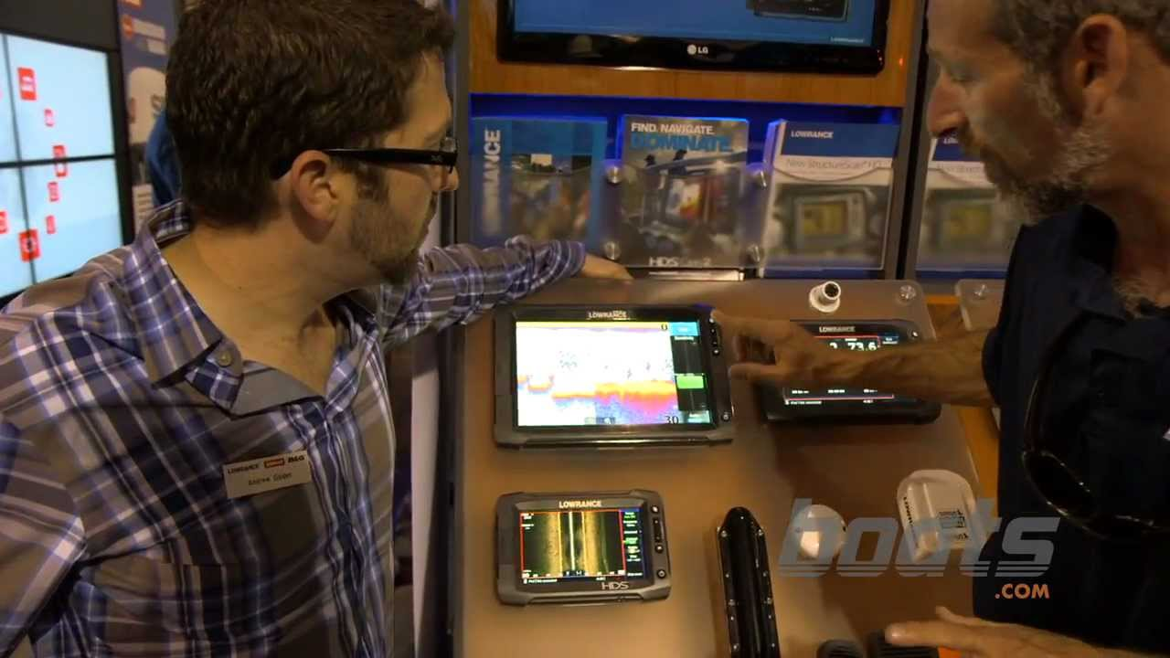 Lowrance HDS Gen 2 Touchscreen: Custom Menus and More