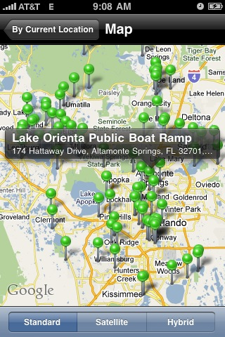 Call Up a Boat Ramp by iPhone thumbnail