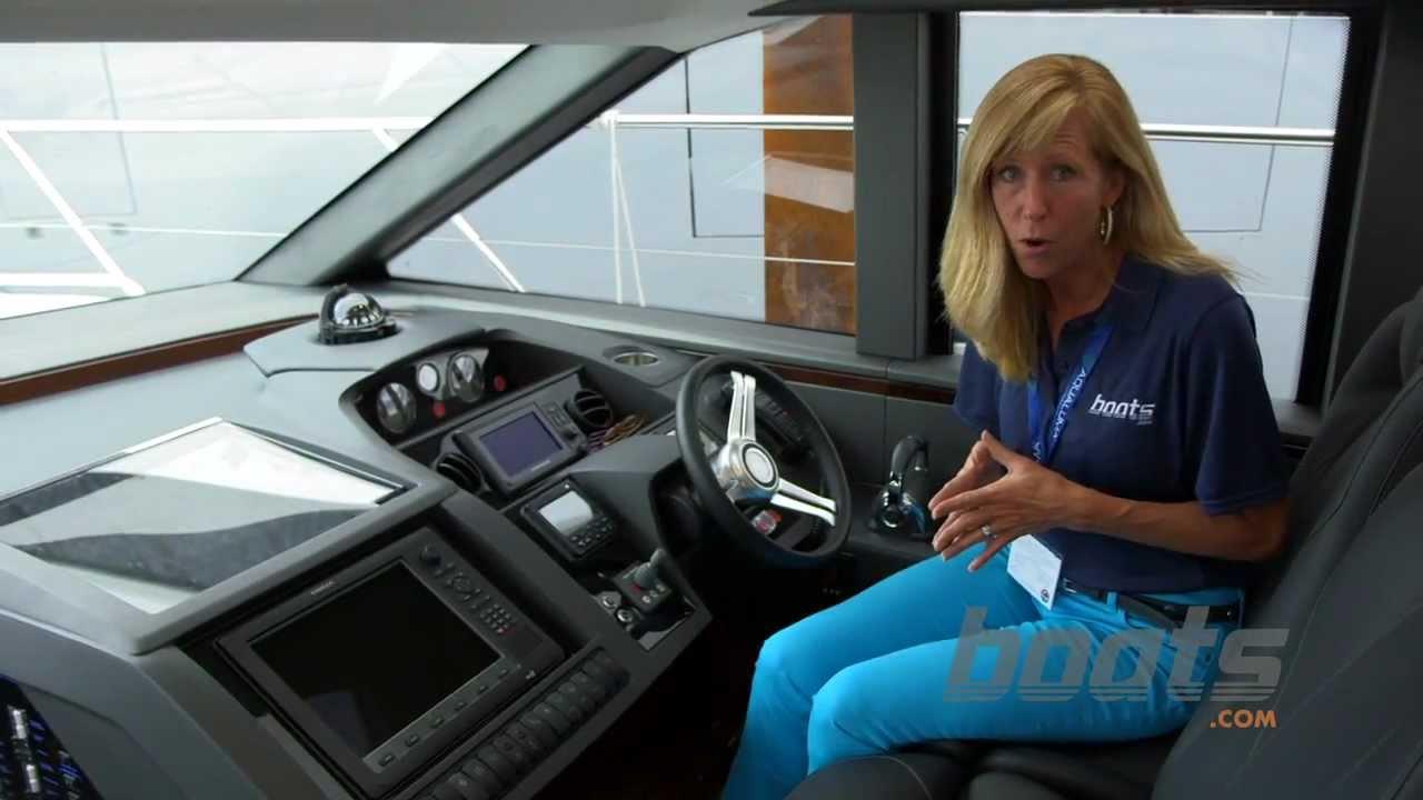Princess Yachts V57: Sporty Creature Comforts