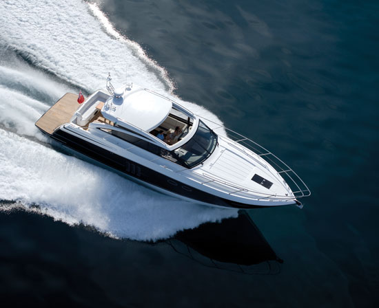 Princess V52, Power and Luxury