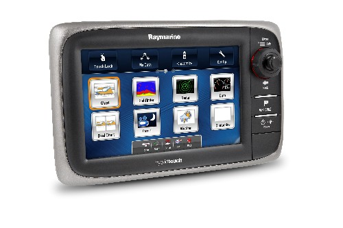 Raymarine's e7 represents a new direction for this marine electronics powerhouse.