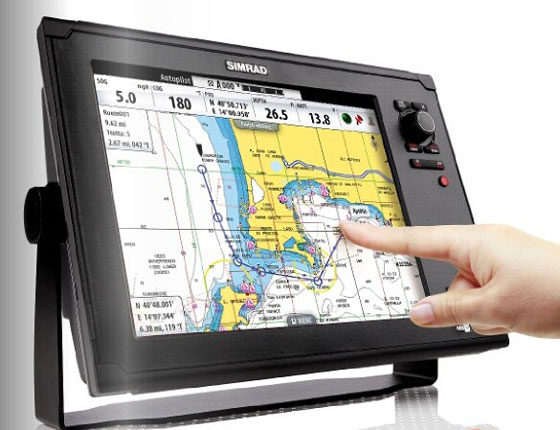 Touch Screens for Simrad Chartplotters