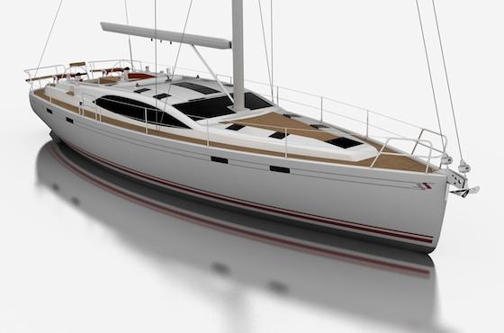 Southerly 45, a stylish bluewater cruiser by Stephen Jones