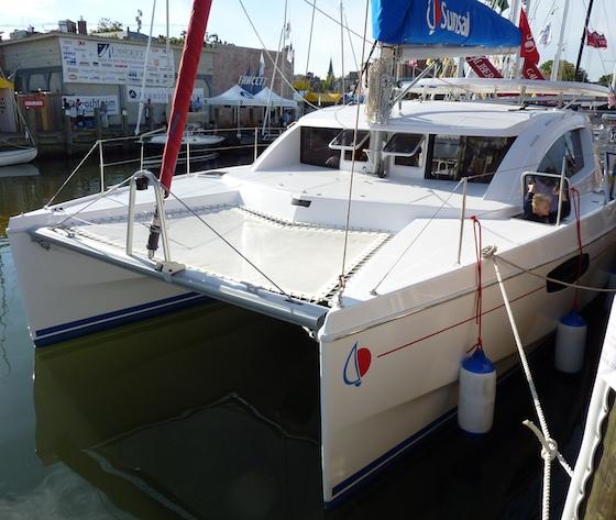 New Catamarans Cruise into Annapolis thumbnail