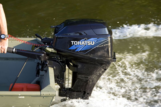 Brp Evinrude Announces Deal With Tohatsu For Small Outboards Boats Com