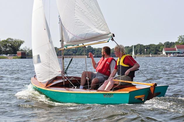 woody goes sailing