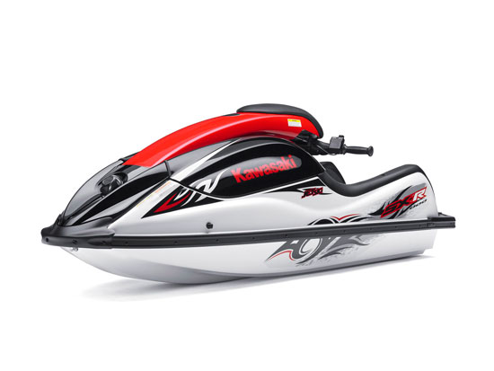 This 2011 special commemorative edition 800SX-R model will be the last stand-up Jet Ski from Kawasaki.