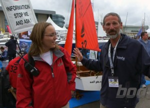 Info at Southampton Boat Show