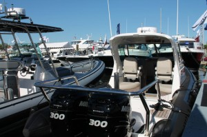 One of the hot properties at the Annapolis Boat Show was the new Protector 30.