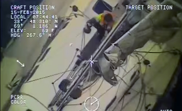 Manic Monday Video: Australians Rescued from Yacht