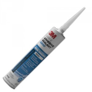 A tube of 3M 5200 marine sealant.
