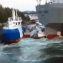 Manic Monday Videos: Container Ship Destroys Marina