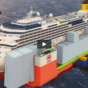Costa Concordia: Tow or Float?