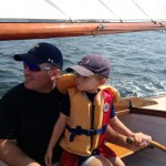 Zach's First Sail
