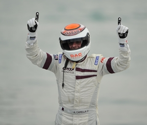 Driver Alex Carella