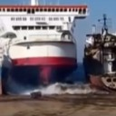 Manic Monday Video: Ferry's Last Docking
