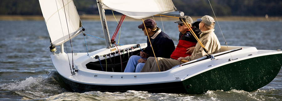 The Harbor 20: Graceful, swift, easy to sail, and tons of fun. What's not to love?