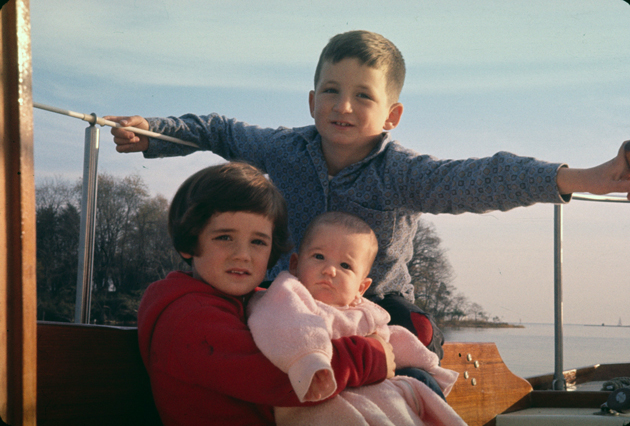kids cruising on Pearson Vanguard