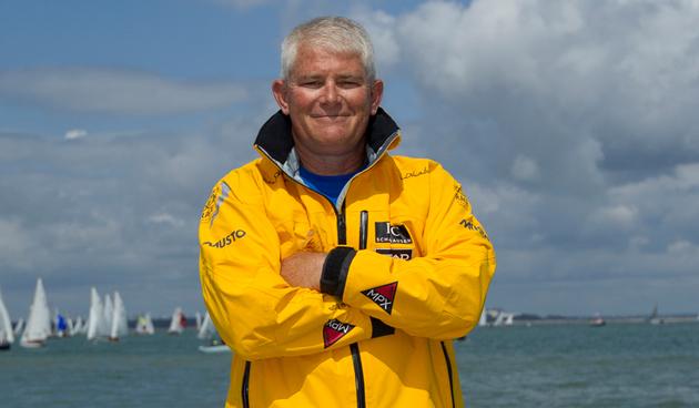 Keith Burhans recently sailed on Abu Dhabi's Azzam. Photo: Ian Roman