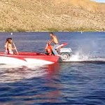 Manic Monday Video: Motorcycle Boats