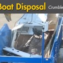 Old boat disposal: Crush or Shred?