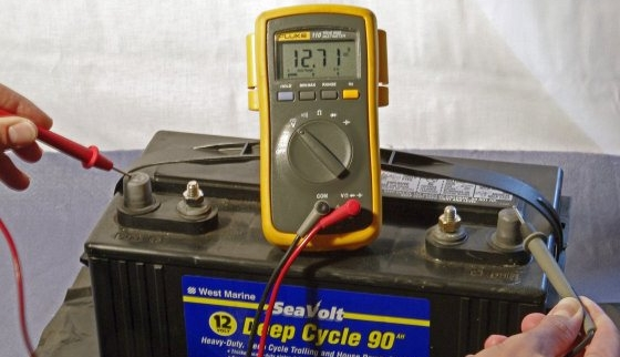 Open Circuit Voltage Testing