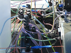 SKUD rope control board